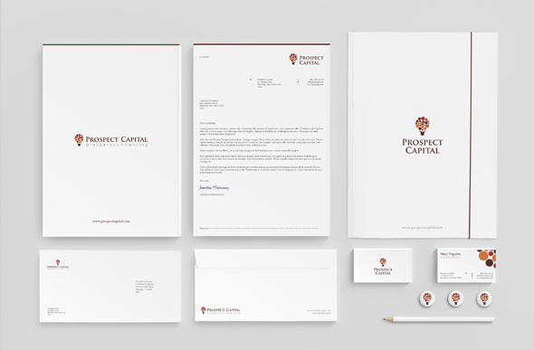 corporate identity and stationery